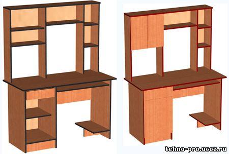 Чертежи стола для школьника своими руками 84